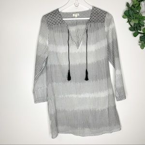 Soft Joie Vertically Striped Tunic Top